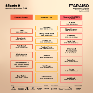 SABADO Paraíso Festival