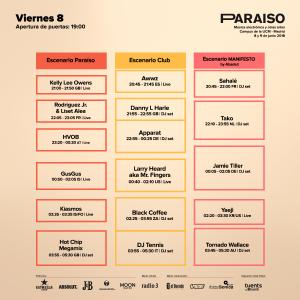 VIERNES Paraíso Festival