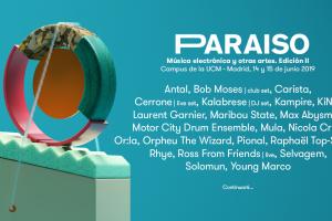 Paraíso 2019 cartel